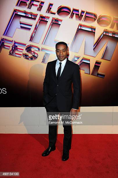 Chiwetel Ejiofor arrives at Banqueting House for the BFI London Film Festival Awards on October 17 2015 in London England