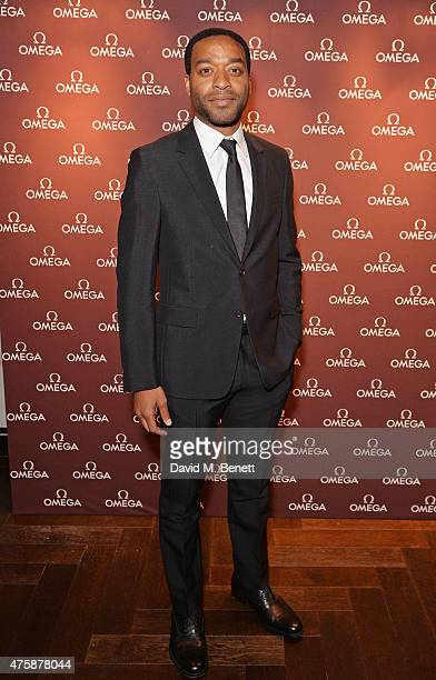 Chiwetel Ejiofor attends a VIP dinner hosted by OMEGA President Stephen Urquhart in honour of new international OMEGA ambassador Eddie Redmayne at...