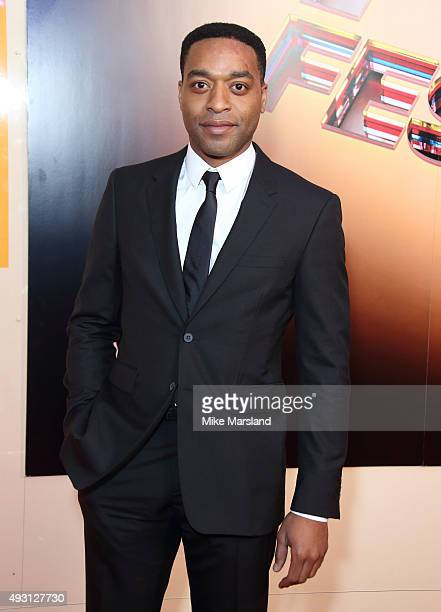 Chiwetel Ejiofor attends the BFI London Film Festival Awards at Banqueting House on October 17 2015 in London England