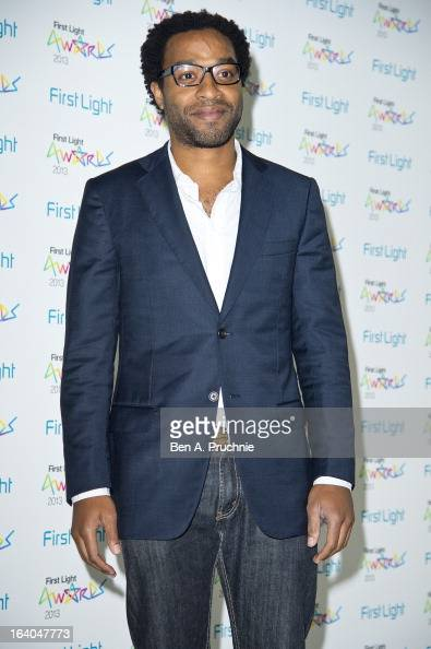 Chiwetel Ejiofor attends the First Light Awards at Odeon Leicester Square on March 19 2013 in London England