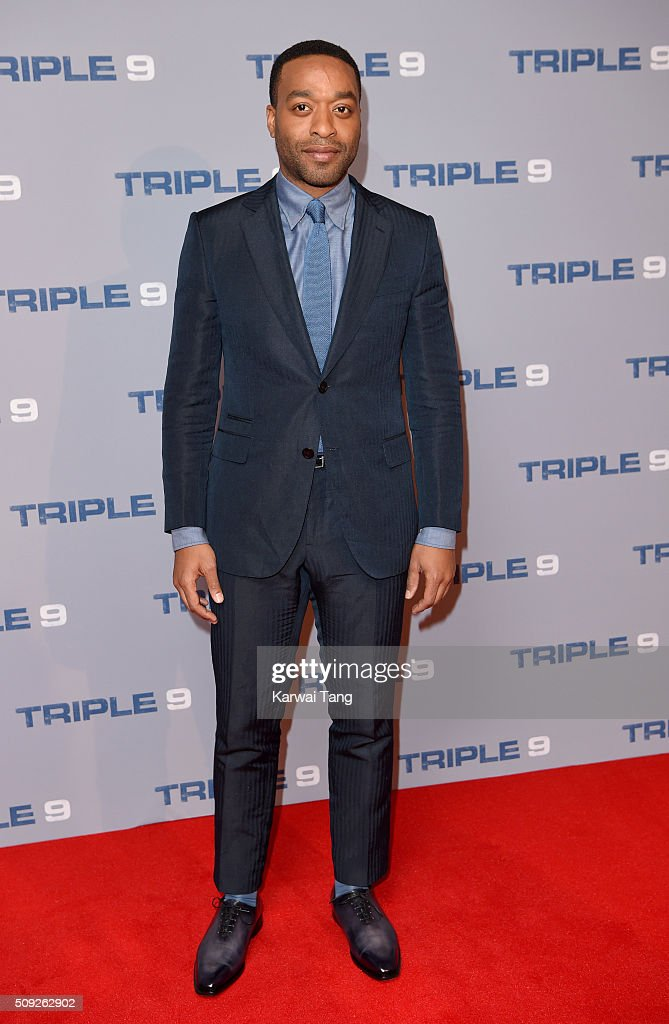 Chiwetel Ejiofor attends the Special Screening of 'Triple 9' at Ham Yard Hotel on February 9, 2016 in London, England.