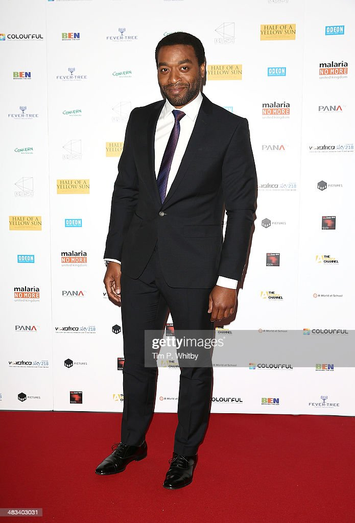 <a gi-track='captionPersonalityLinkClicked' href=/galleries/search?phrase=Chiwetel+Ejiofor&family=editorial&specificpeople=213998 ng-click='$event.stopPropagation()'>Chiwetel Ejiofor</a> attends the UK Premiere of 'Half Of A Yellow Sun' at Odeon Streatham on April 8, 2014 in London, England.