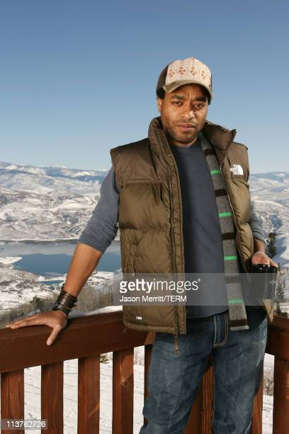 Chiwetel Ejiofor with North Face at The North Face House *Exclusive Coverage*