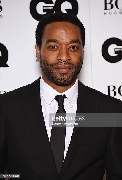 Chiwitel Ejiofor attends the GQ Men Of The Year Awards at The Royal Opera House on September 8 2015 in London England