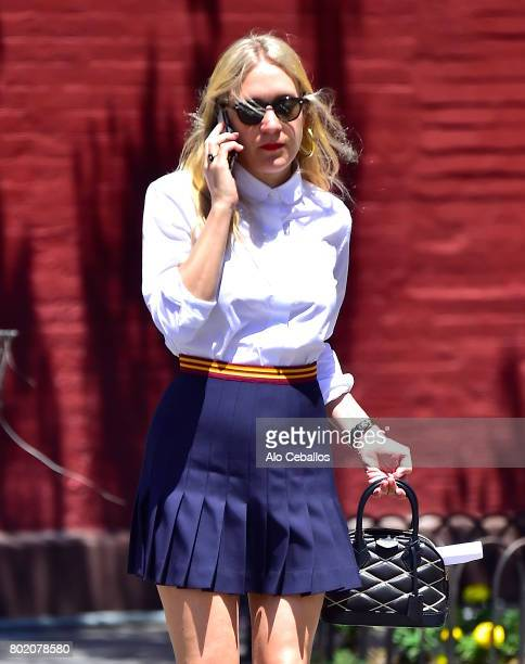 Chlo Sevigny is seen in the West Village on June 27 2017 in New York City