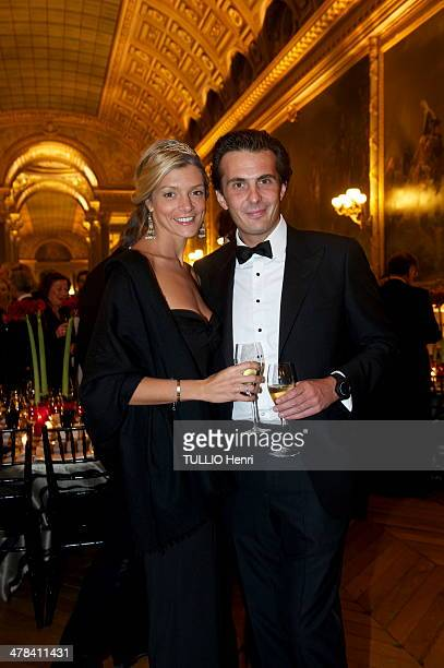 Chloe and her husband Yannick Bollore attend the Gala Dinner for the Association for LifeHope against Cancer on January 31 2011 at VersaillesFrance