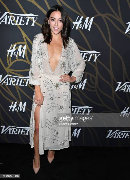 Chloe Bennet arrives at the Variety Power Of Young Hollywood at TAO Hollywood on August 8 2017 in Los Angeles California