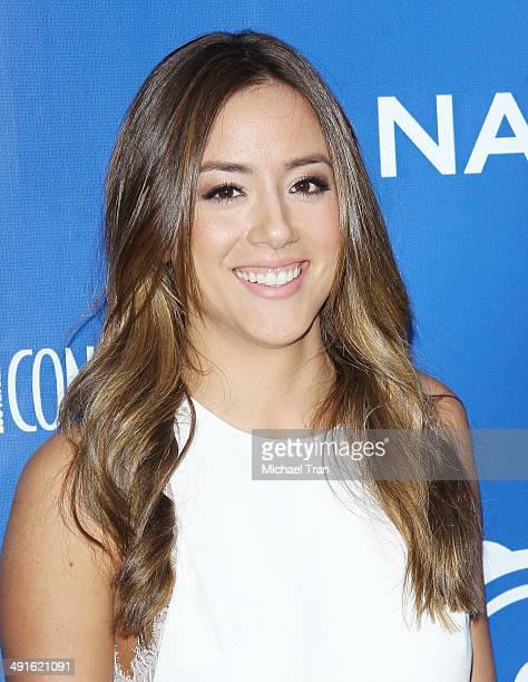 Chloe Bennet arrives Nautica and LA Confidential's Oceana Beach house party held at Marion Davies Guest House on May 16 2014 in Santa Monica...