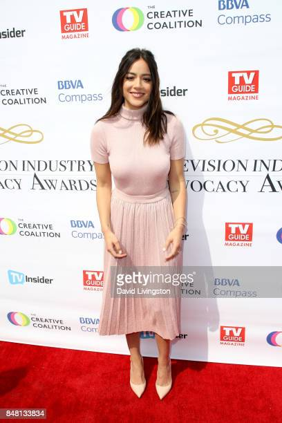 Chloe Bennet at the Television Industry Advocacy Awards at TAO Hollywood on September 16 2017 in Los Angeles California