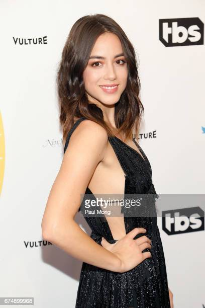 Chloe Bennet attends 'Not the White House Correspondents' Dinner' presented by Full Frontal With Samantha Bee at DAR Constitution Hall on April 29...