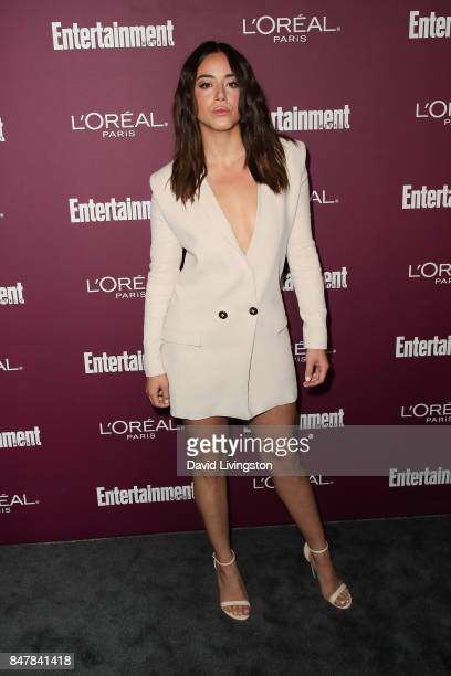 Chloe Bennet attends the Entertainment Weekly's 2017 PreEmmy Party at the Sunset Tower Hotel on September 15 2017 in West Hollywood California