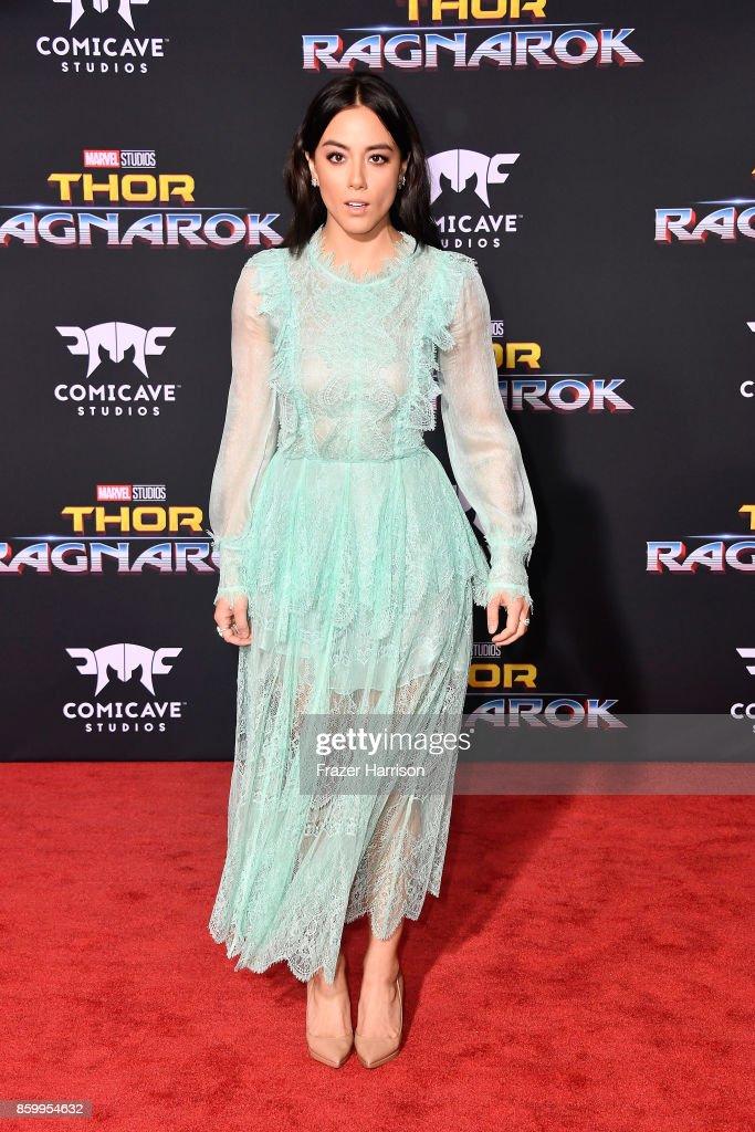 "Premiere Of Disney And Marvel's ""Thor: Ragnarok"" - Arrivals"