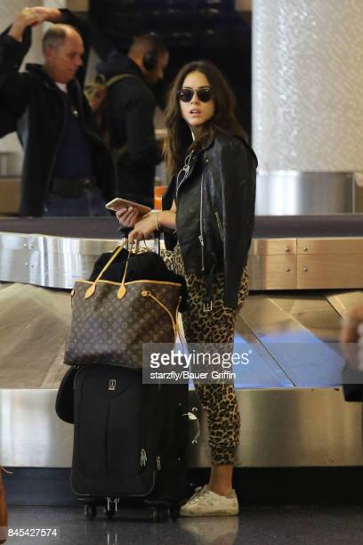 Chloe Bennet is seen at LAX on September 10 2017 in Los Angeles California