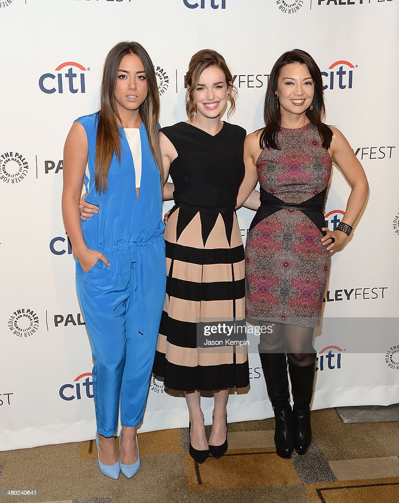 Chloe Bennett Elizabeth Henstridge and MingNa Wen attend The Paley Center For Media's PaleyFest 2014 Honoring 'Marvel's Agents Of SHIELD' at Dolby...