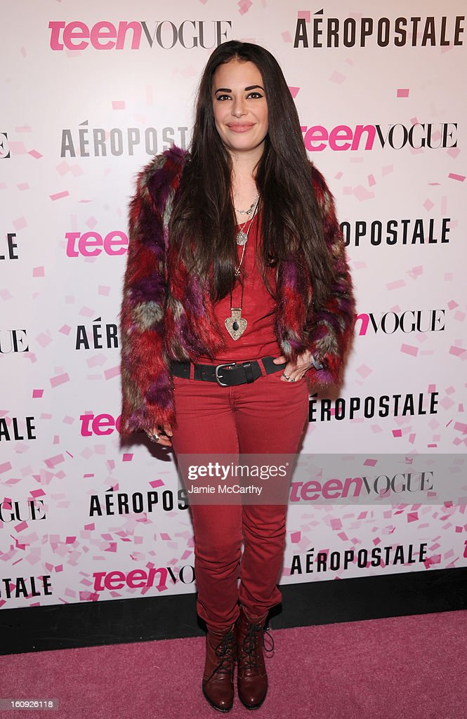 Chloe Bridges attends the 10th Anniversary of Teen Vogue and Aeropostale's Celebration of Chloe Grace Moretz's Sweet 16 at Aeropostale Times Square on February 7, 2013 in New York City.