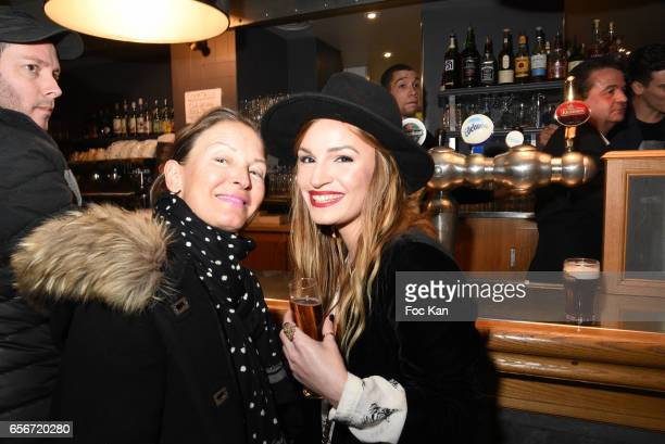 Chloe Clor and her mother attend 'Apero Mecs A Legumes' Party Hosted by Grand Seigneur Magazine at the Bistrot Marguerite on March 22 2017 in Paris...