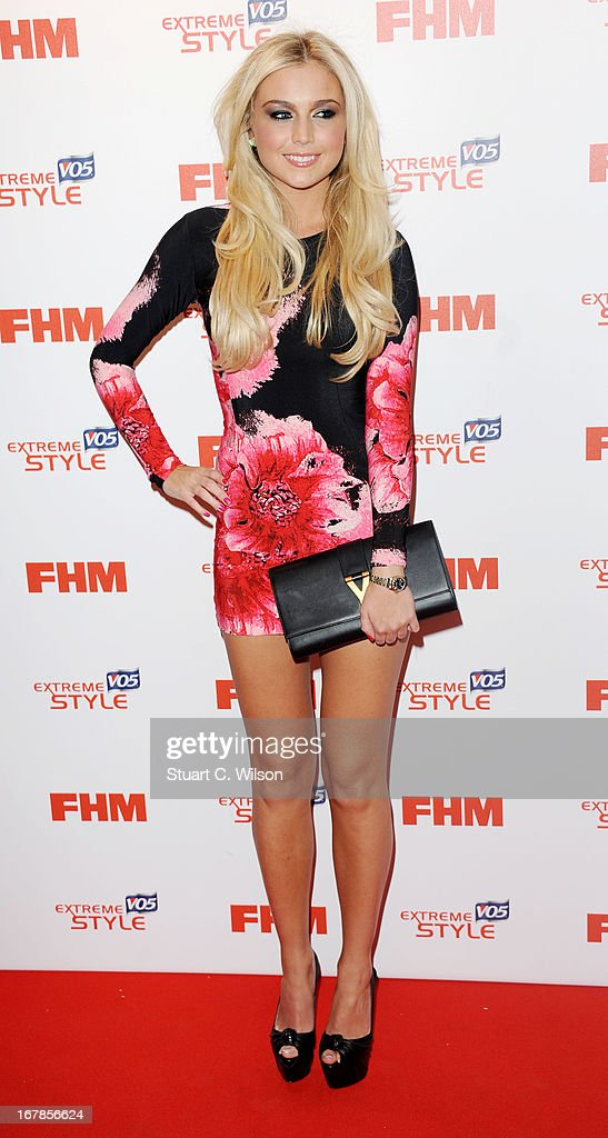 Chloe Cummings attends the FHM 100 Sexiest Women In The World 2013 Launch Party at Sanderson Hotel on May 1, 2013 in London, England.