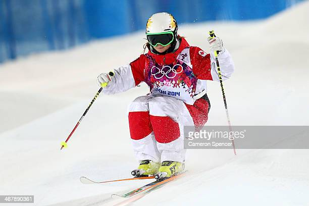 Chloe DufourLapointe of Canada competes in the Ladies' Moguls Final 2 on day one of the Sochi 2014 Winter Olympics at Rosa Khutor Extreme Park on...