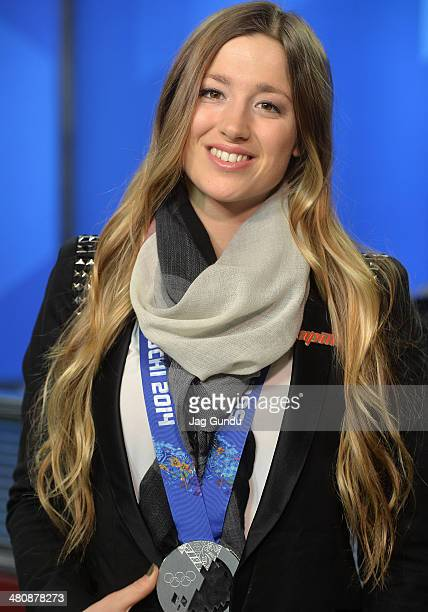 Chloe DufourLapointe talks about the 2014 Sochi Olympics taking home the silver medal and sharing the Olympic podium with family at The Morning Show...