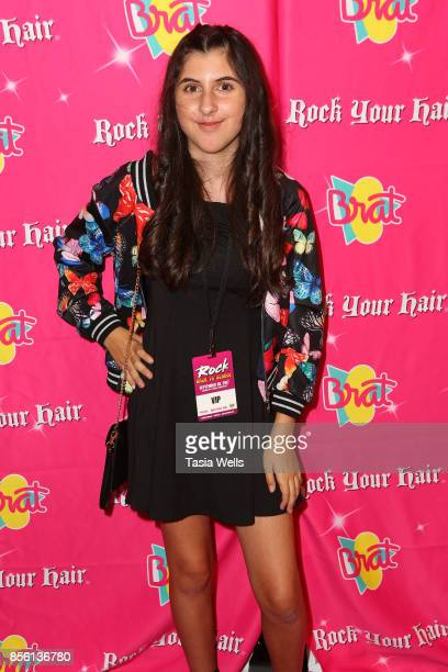 Chloe Elie at Rock Your Hair Presents Rock Back to School Concert Party on September 30 2017 in Los Angeles California