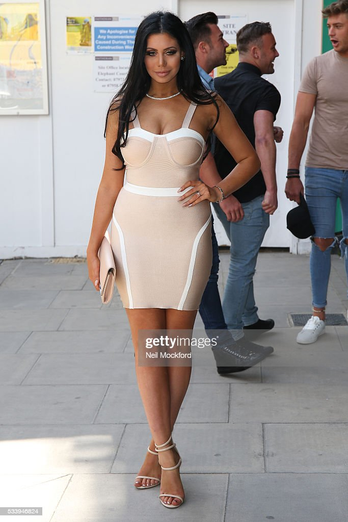 Chloe Ferry at MTV HQ in Camden to celebrate the Geordie Shore 5th Birthday Party on May 24, 2016 in London, England.