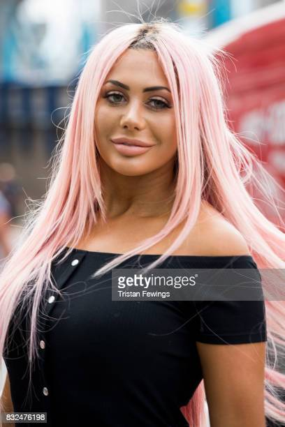 Chloe Ferry attends the Geordie Shore Land of Hope and Geordie photocall to celebrate the launch of series 15 on August 16 2017 in London England