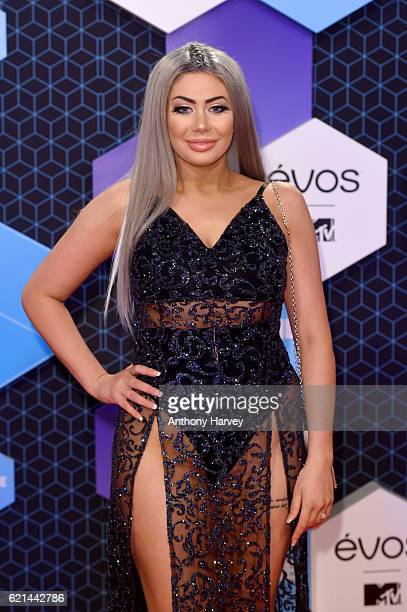 Chloe Ferry attends the MTV Europe Music Awards 2016 on November 6 2016 in Rotterdam Netherlands