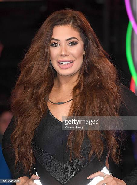Chloe Ferry is the fifth housemate evicted from the Celebrity Big Brother House at Elstree Studios on January 20 2017 in Borehamwood United Kingdom