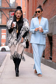 Celebrity Sightings In New York City - February 20, 2020