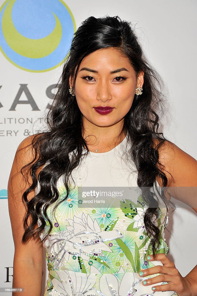 Chloe Flower arrives at the Coalition To Abolish Slavery and Trafficking's 15th Annual From Slavery to Freedom gala at the Sofitel Hotel on May 9, 2013 in Los Angeles, California.