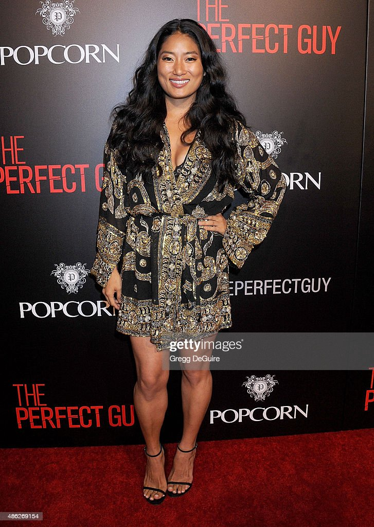 Chloe Flower arrives at the premiere of Screen Gems' 'The Perfect Guy' at The WGA Theater on September 2, 2015 in Beverly Hills, California.