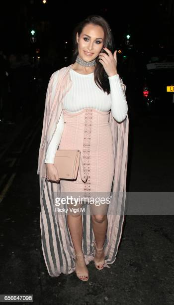 Chloe Goodman attends Sixty6 Magazine issue two launch party at Paper club on March 22 2017 in London England