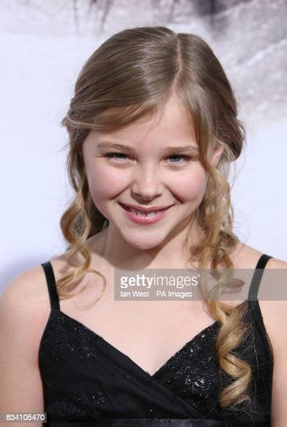 Chloe Grace Moretz arrives at the premiere of The Eye at the Pacific Cinerama Dome Los Angeles