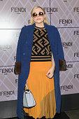 Fendi - Front Row - Milan Fashion Week Fall/Winter...