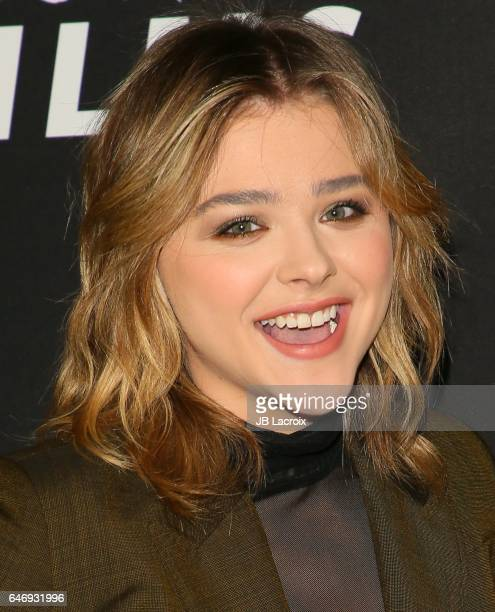 Chloe Grace Moretz attends the premiere of Open Road Films' 'Before I Fall' on March 01 2017 in Los Angeles California