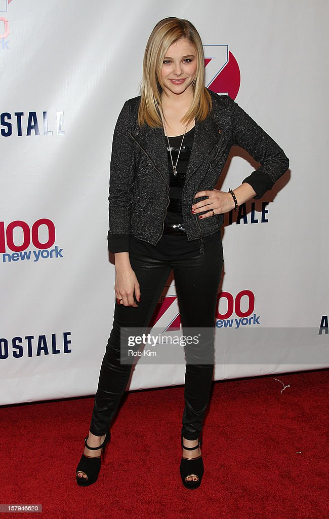 Chloe Grace Moretz attends Z100's Jingle Ball 2012 presented by Aeropostale at Madison Square Garden on December 7, 2012 in New York City.