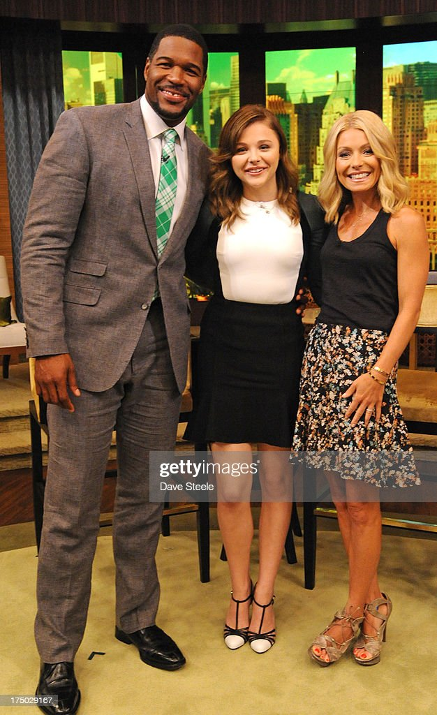MICHAEL -7/29/13 - Chloe Grace Moretz is a guest on 'LIVE with Kelly and Michael,' distributed by Disney-ABC Domestic Television. MICHAEL