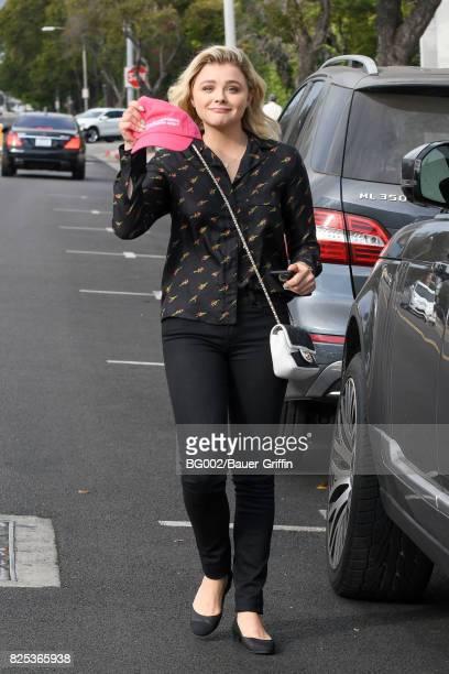 Chloe Grace Moretz is seen on August 01 2017 in Los Angeles California