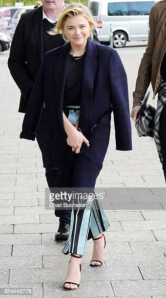 Chloe Grace Moretz sighted on April 26 2016 in Berlin Germany