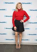Chloe Grace Moretz visits at SiriusXM Studios on January 5 2016 in New York City