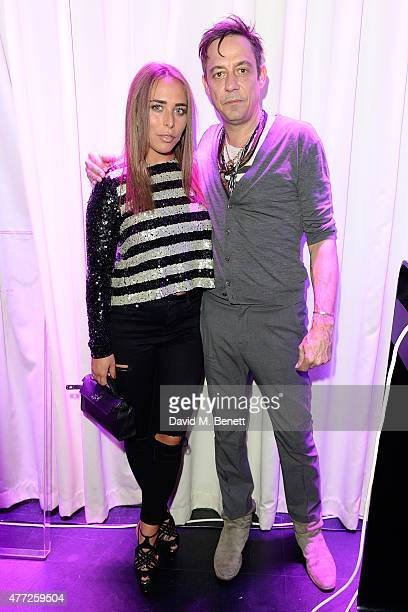 Chloe Green and Jamie Hince attend the ShortList and House of Fraser London Collections Men closing night party 2015 at Quaglino's on June 15 2015 in...