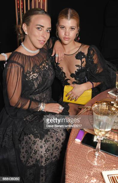 Chloe Green and Sofia Richie attend the amfAR Gala Cannes 2017 at Hotel du CapEdenRoc on May 25 2017 in Cap d'Antibes France