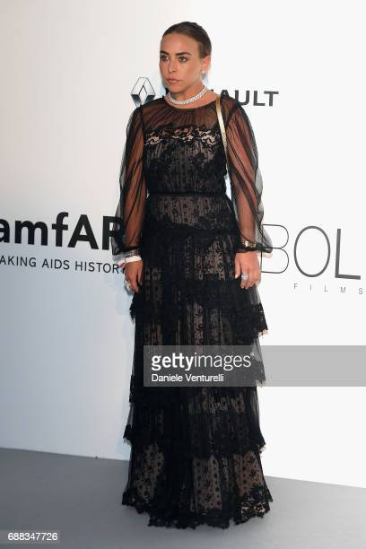 Chloe Green arrives at the amfAR Gala Cannes 2017 at Hotel du CapEdenRoc on May 25 2017 in Cap d'Antibes France