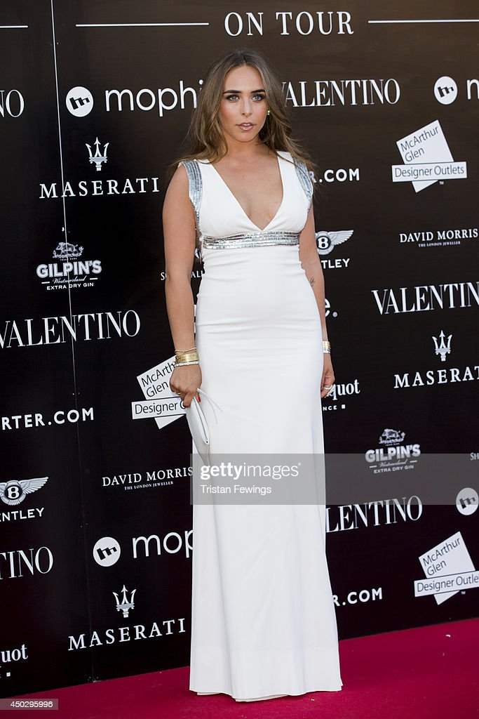 Chloe Green attends a gala dinner and auction to celebate the end of the Cash & Rocket tour at Natural History Museum on June 8, 2014 in London, England.