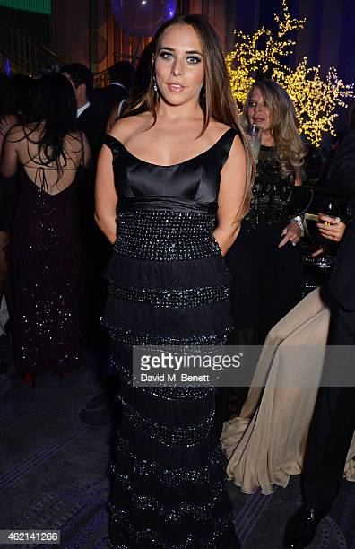 Chloe Green attends Lisa Tchenguiz's 50th birthday party at the Troxy on January 24 2015 in London England