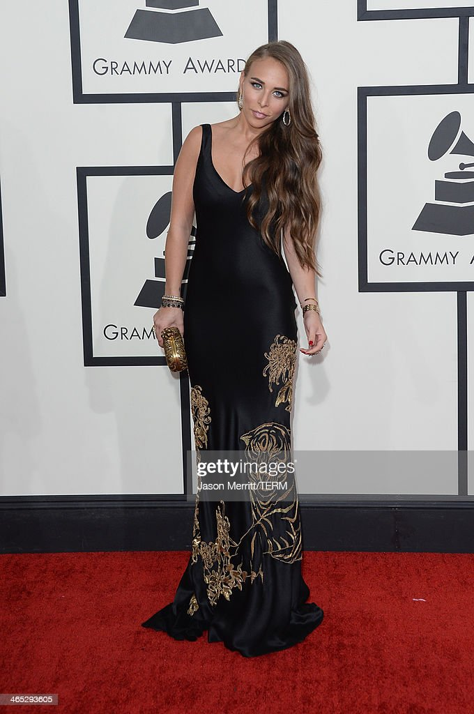 <a gi-track='captionPersonalityLinkClicked' href=/galleries/search?phrase=Chloe+Green&family=editorial&specificpeople=4271114 ng-click='$event.stopPropagation()'>Chloe Green</a> attends the 56th GRAMMY Awards at Staples Center on January 26, 2014 in Los Angeles, California.