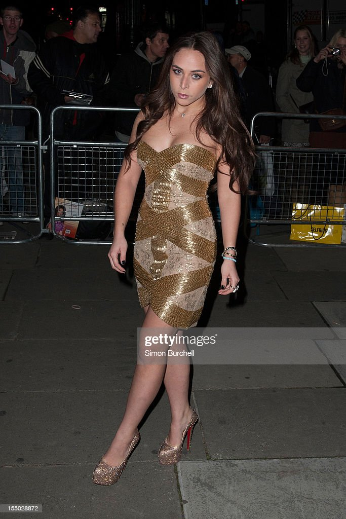 Chloe Green attends the Cosmopolitan Ultimate Woman of the Year awards at Victoria & Albert Museum on October 30, 2012 in London, England.