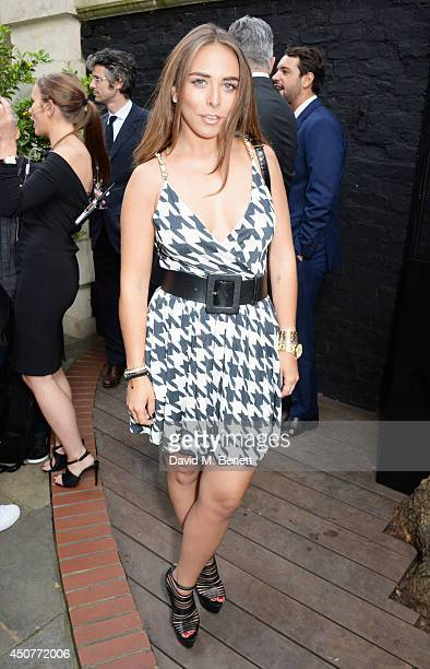 Chloe Green attends the GQ Style Party at Dunhill on June 17 2014 in London England