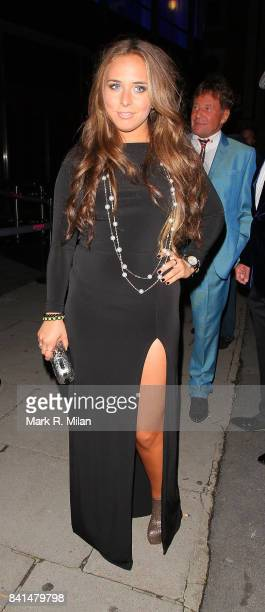 Chloe Green attends the Midsummer Night's Dream party at The Playboy Club in London