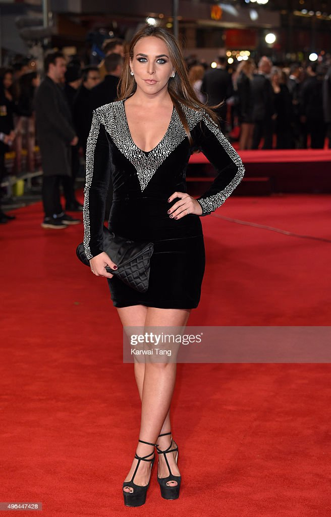 Chloe Green attends the World Premiere of 'Ronaldo' at Vue West End on November 9, 2015 in London, England.